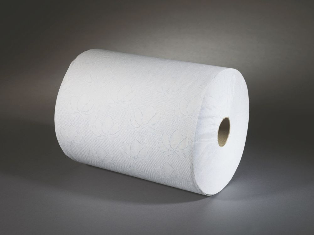 Lotus Enmotion Roll White 2 Ply247mmx143metres Pack 6 K90225