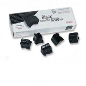 Xerox Phaser 8200 Inkjet Cartridge Black Pack 5 016-2040-00