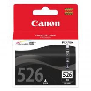 Canon Inkjet Cartridge Page Life 2185pp Black CLI-526 BK Code 4540B001