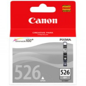 Canon Inkjet Cartridge Page Life 1515pp Grey CLI-526GY Code 4544B001