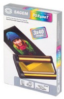 Sagem Picture Pack Dye Sublimation Ribbon and Papers 6x4in 40 Sheets DSR400