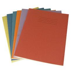 Exercise Book 10 mm Square 80 Page 230x180 Orange Ref EX554261