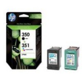 HP No.350/351 Combo Pack Inkjet Print Cartridges Code SD412EE