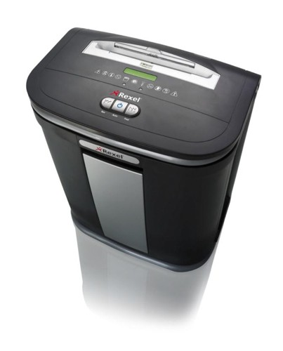 Rexel Mercury RSS2030 Shredder 5.8mm Strip Cut 20x80gsm 13.4kg W416xD332xH550mm Ref 2102402