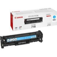 Canon CRG-718C Laser Toner Cartridge Page Life 2900pp Cyan Ref 2661B002