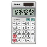 Casio Pocket Calculator SL-305ECO-W-EH