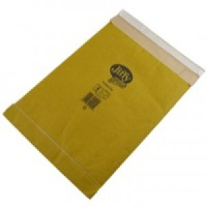 Jiffy Padded Bags Self Seal Size PB3 195x343mm 100 Per Box