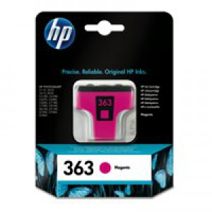Hewlett Packard [HP] No. 363 Inkjet Cartridge Page Life 350pp 4ml Magenta Ref C8772EE