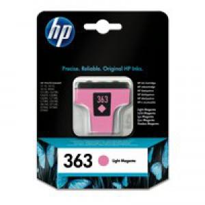 Hewlett Packard [HP] No. 363 Inkjet Cartridge Page Life 350pp 4ml Light Magenta Ref C8775EE-ABB