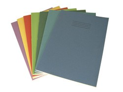 Exercise Book 8 mm Ruled and Margin 80 Page A4 Light Blue Ref EX668133-5