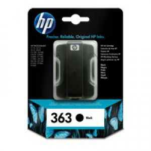 Hewlett Packard [HP] No. 363 Inkjet Cartridge Page Life 410pp 6ml Black Ref C8721EE