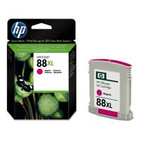 Hewlett Packard [HP] No. 88XL Inkjet Cartridge Page Life 1200pp Magenta Ref C9392AE