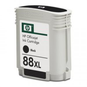 HP No.88 Inkjet Cartridge High Yield 58.5ml Black Code C9396AE