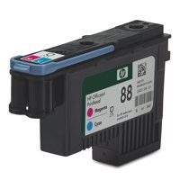 Hewlett Packard [HP] No. 88 Inkjet Cartridge Magenta & Cyan Ref C9382A