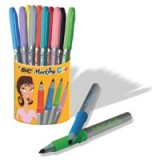Bic Permanent Markers Colour Collection Non-toxic 0.8-1.8mm Line Assorted