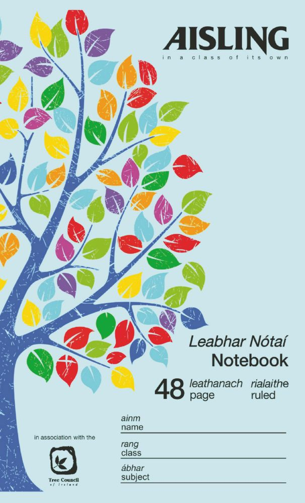 Notebook 7mm Ruled and Centre Margin 48 Page 165x102 Blue Ref NB01252
