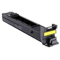Konica Minolta Laser Toner Cartridge Page Life 4000pp Yellow Ref A0DK251
