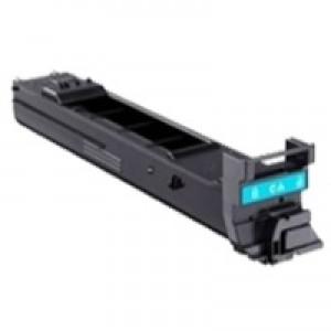 Konica Minolta Laser Toner Cartridge Page Life 4000pp Cyan Ref A0DK451