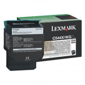 Lexmark C544 Extra High Return Program Cartridge Black Code C544X1KG