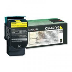 Lexmark C544 Extra High Yeild Return Program Cartridge Yellow Code C544X1YG