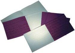 Writing Book 4B/15R 32 Page 160x200 Vivid Purple Ref SDXB4