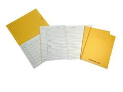 Homework Diary 84 Page 160x100 Yellow Ref SDWD1