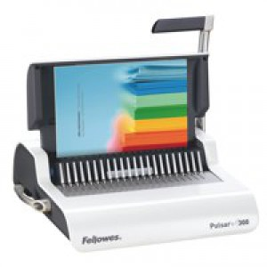 Fellowes Pulsar-E 300 Small Office Electric Comb Binding Machine For Regular Use