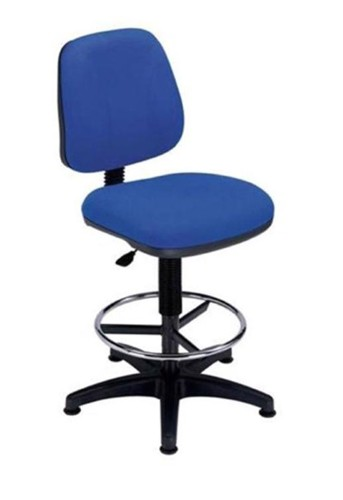 Trexus Intro Medium Back High Rise Chair Seat W490xD450xH650-780mm Back H390mm Blue