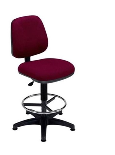Trexus Intro Medium Back High Rise Chair Seat W490xD450xH650-780mm Back H390mm Burgundy