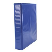 Elba Presentation Ring Binder PVC 2 D-Ring 25mm Capacity A5 Blue Ref 400008508 [Pack 6]