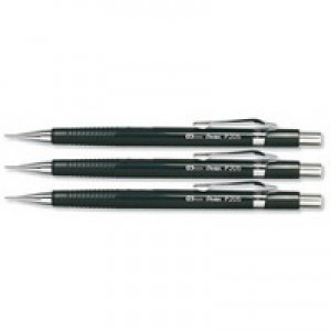 Pentel Automatic Pencil Plastic Steel-lined with 6 x HB 0.5mm Lead Ref P205