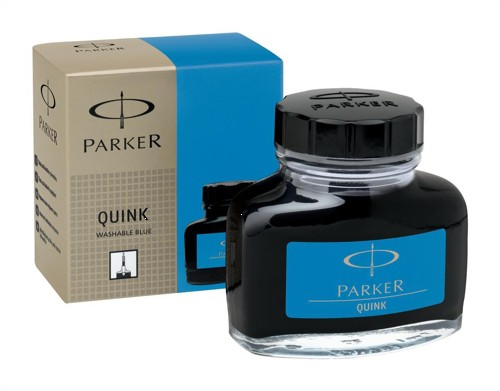 Parker Quink Bottled Ink Washable 57ml Bottle Royal Blue Ref S0037480