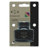Parker Quink Bottled Ink Permanent 57ml Bottle Black Code S0037460