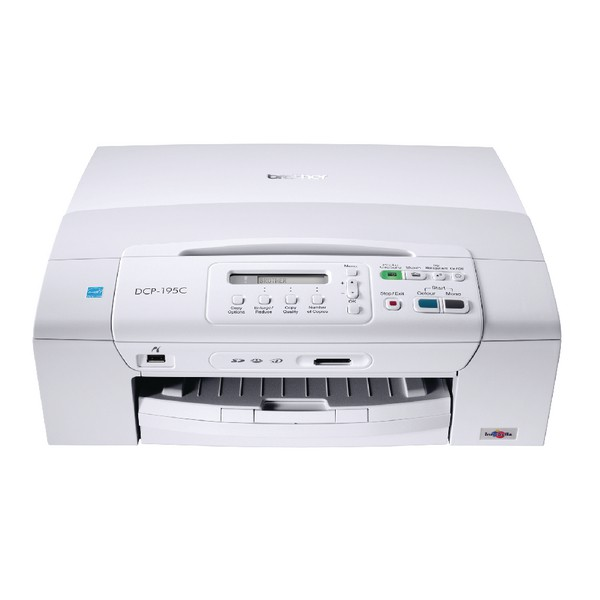 Brother DCP-195CZU1 Mono Multifunction Inkjet Printer Ref DCP195CZU1