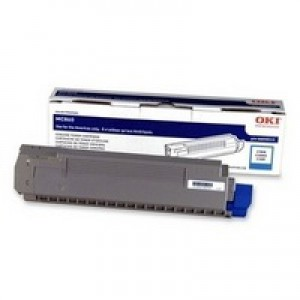 Oki MC860 Toner Cartridge 10K Cyan Code 44059211