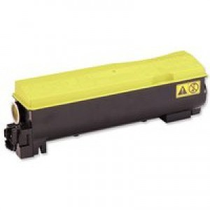 Kyocera FS-C5400DN Laser Toner Cartridge 12K Yellow TK-570Y