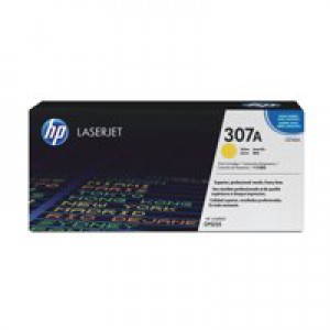 Hewlett Packard [HP] No. 307A Laser Toner Cartridge Page Life 7300pp Yellow Ref CE742A