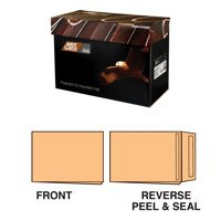 Avant Garde Gusset Pocket Peel & Seal Cream Manilla C4 Pack 100