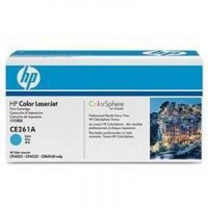 HP No.648A Laser Toner Cartridge Cyan Code CE261A