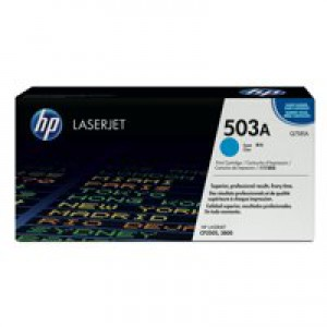 HP No.503A Laser Toner Cartridge Cyan Code Q7581A