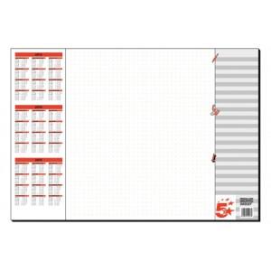 5 Star Paper Desk Pad Z0042