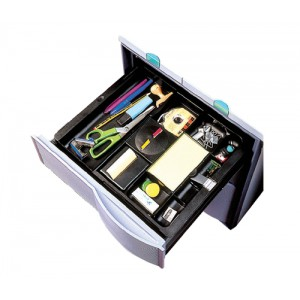 Drawer Tray 253-405x297x40mm Black