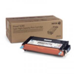 Xerox Phaser 6280 High Capacity Toner Cartridge Cyan Code 106R01392