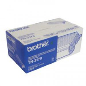 Brother Laser Toner Cartridge High Yield Black Code TN3170
