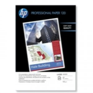 HP Professional Glossy Laser Paper A3 120gsm Pack 250 Code CG969A