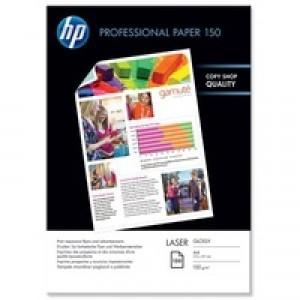 Hewlett Packard Professional Gloss Laser Photo Paper A4 150gsm Pack of 150 CG965A
