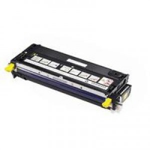 Dell 3130 High Capacity Yellow Toner Cartridge 9K Code 593-10291