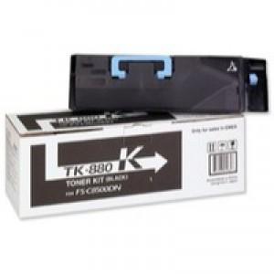 Kyocera FS-C8500DN Toner Cartridge 25K Black TK-880K