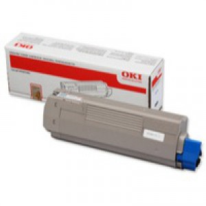 Oki C610 Toner Cartridge 8K Black 44315308