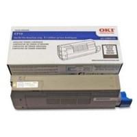 Oki C711 Toner Cart Black 44318608